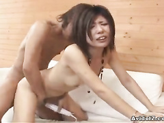 Craziest Japanese group sex action with four oriental babes