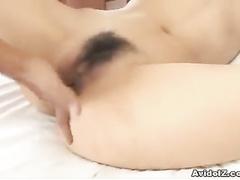 Fat member is getting stuck inside the ass of Asian
