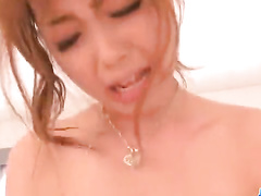 Asian teen fucked and fingered until the squirt