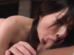 Dude licks oriental nub and gets the sex reward