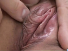 Japanese girl enjoys big dick inside hairy pussy