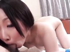 Wonderful Asian beauty is pleasuring hot fuck and masturbation