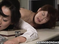 Two crazy Japanese perverts are getting lashed