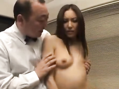 Beautiful long haired oriental chick gets hotly fucked at porn casting