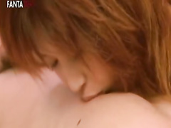 Cute Japanese chick is hotly exciting from gentle fondling