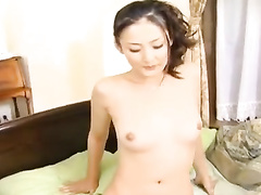 Japanese fuckers are tastily licking young chick's hairy pussy