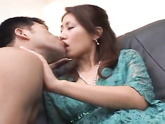 Redhead Asian milf gets satisfied with vibrator toys