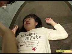 Teen Asian slut Ozak Nonoka does deep blowjob and enjoys hardcore fuck