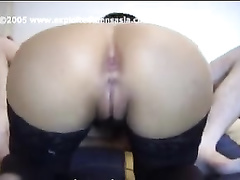 Young Philippine slut Jane is being fucked in hairy cunt and fingered in tight asshole